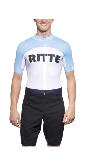 POC Raceday Climber Ritte Kortærmet cykeltrøje Herrer hvid